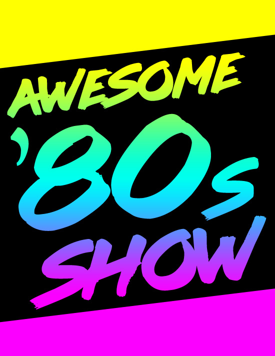 Awesome 80s show tile
