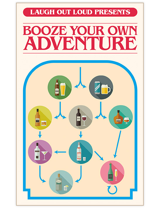 Booze your own adventure tile