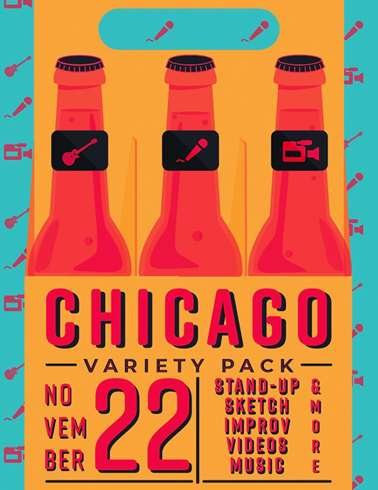 Chicago variety pack tile